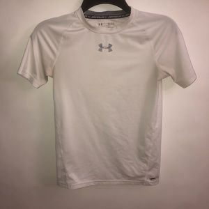 Under Armour White Shirt Youth L